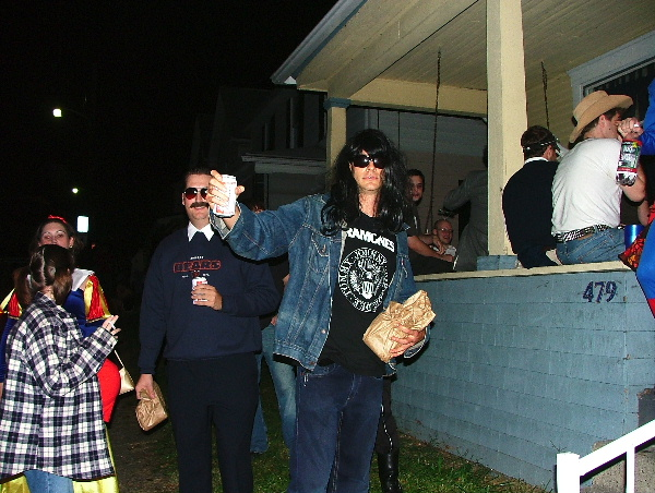 Two more good costumesu2013Joey Ramone and one of Da Superfans. (Go Bears!) & Andyu0027s Official Halloween Picture Post « The Penitent: Comfort in ...